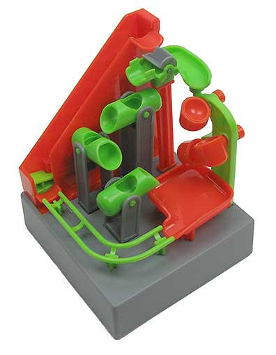 ELECTRIC STAIR AND CUPS MARBLE RUN GAME