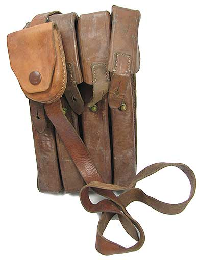 LEATHER GERMAN AMMO POUCH
