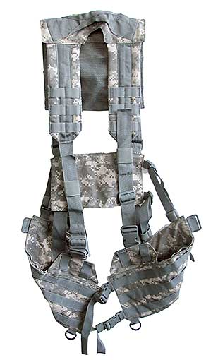 CANVAS CAMOUFLAGE ACCESSORY VEST