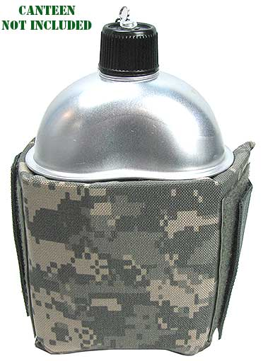 ADJUSTABLE CAMO CANTEEN HOLDER