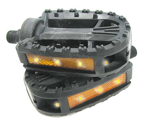 LED LIGHTED BIKE PEDALS