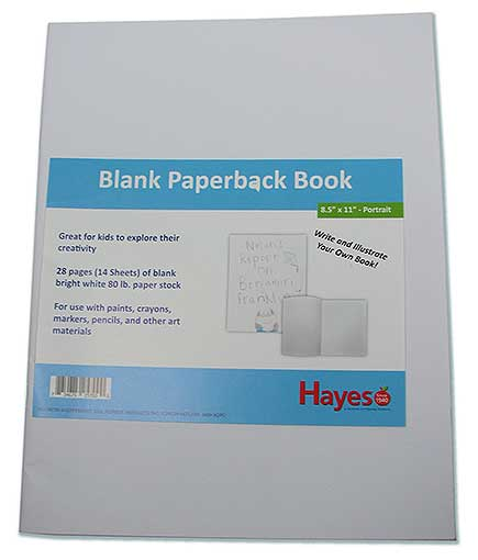 LARGE BLANK BOOKS