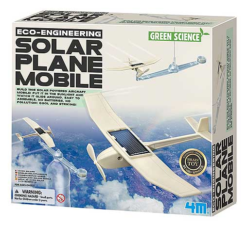 SOLAR SINGLE PROP AIRPLANE MOBILE