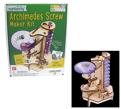 MARBLEOCITY® ARCHIMEDES SCREW STEM KIT
