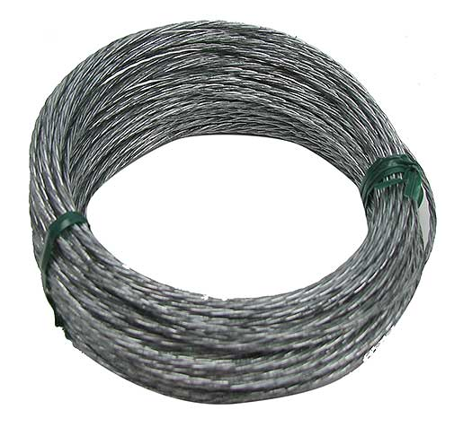 60 FEET OF STEEL CABLE