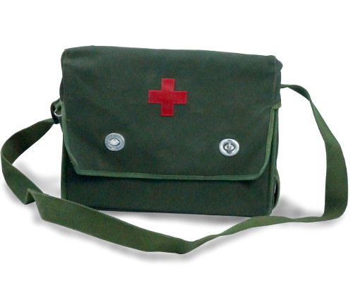RUBBERIZED MILITARY MEDICAL BAGS