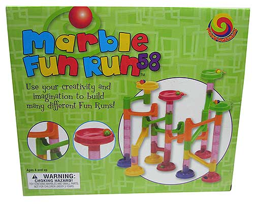 58-PIECE MARBLE RUN KIT
