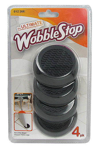 TABLE WOBBLE STOPPERS
