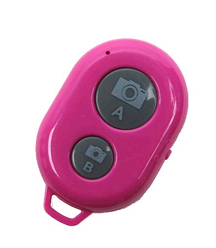 FUCHSIA BLUETOOTH SHUTTER REMOTE