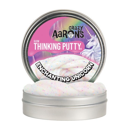 ENCHANTING UNICORN GITD THINKING PUTTY