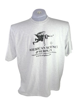 AMERICAN SCIENCE & SURPLUS LARGE T-SHIRT