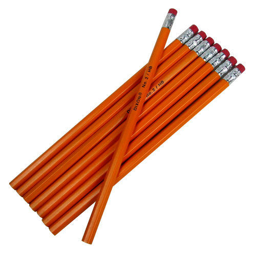 #2 PENCILS WITH ERASERS 8-PACK