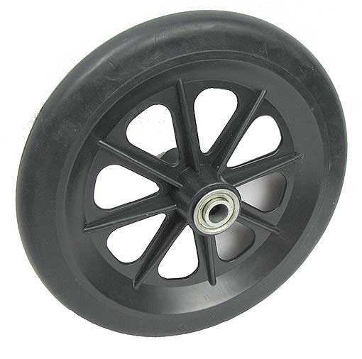 SMOOTH STURDY RUBBER WHEELS