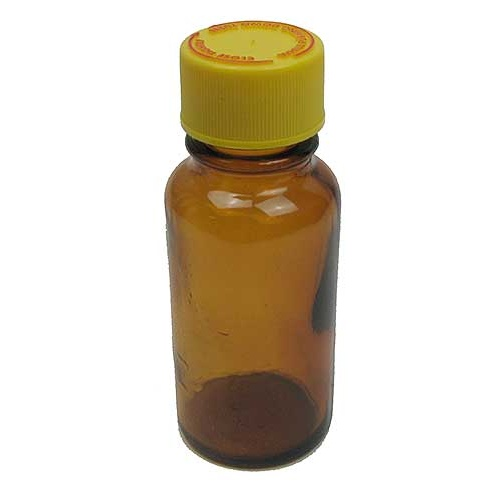 2-OZ AMBER BOTTLE