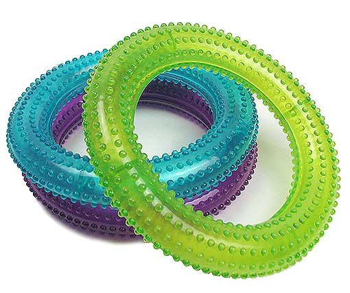 RING-SHAPED DOG CHEW TOY