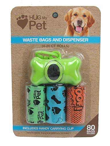 DOG-DO BAGS WITH CARRYING POUCH