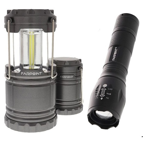 IZOOM® LANTERN AND FLASHLIGHT SET