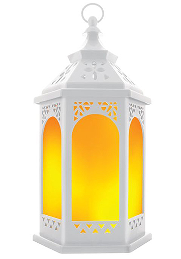 LED LANTERN WITH FLICKERING FLAME