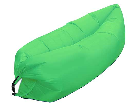 GREEN INFLATABLE LOUNGER AIR SOFA