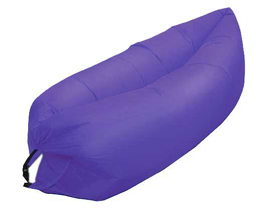 PURPLE INFLATABLE LOUNGER AIR SOFA