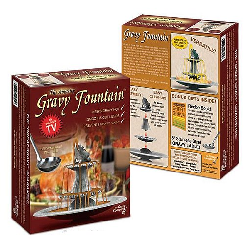 GRAVY FOUNTAIN GAG GIFT BOX