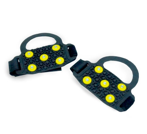PORTABLE STRAP-ON SHOE SPIKES