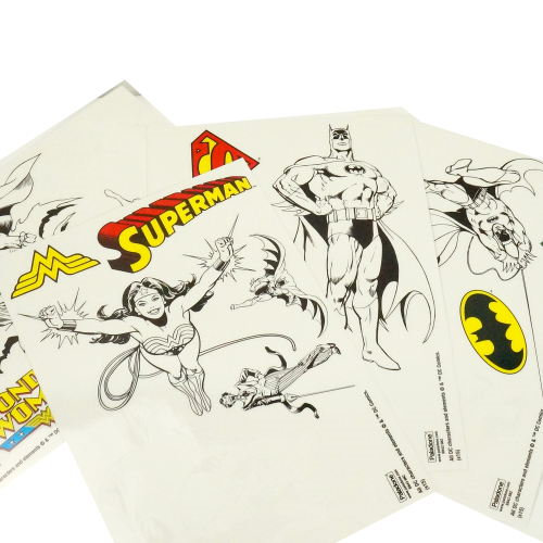 ASSORTED SUPERHERO CLING STICKERS