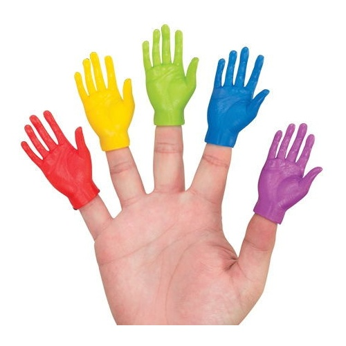 TINY HANDS IN ASSORTED COLORS