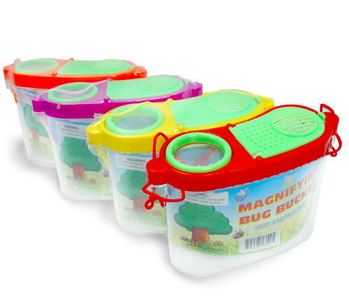 MAGNIFYING BUG COLLECTING BUCKET