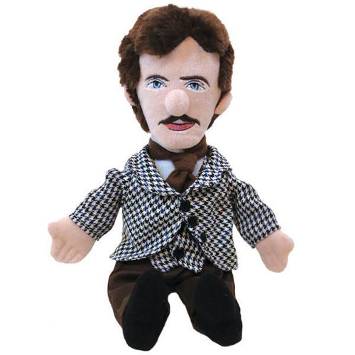 NIKOLA TESLA PLUSH DOLL