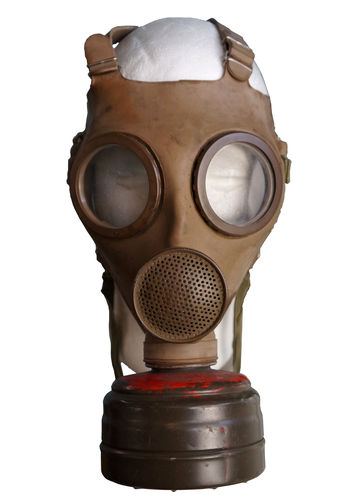 BELGIAN MILITARY GAS MASK