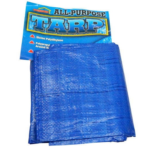 7 X 5-FOOT GROMMETED PLASTIC TARP