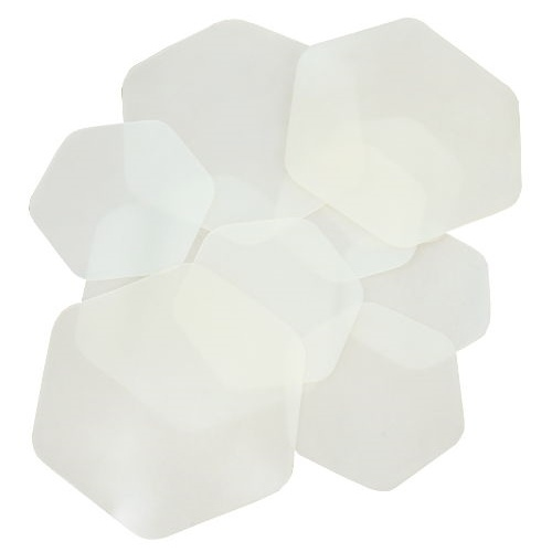 HEXAGON SILICONE RUBBER PADS