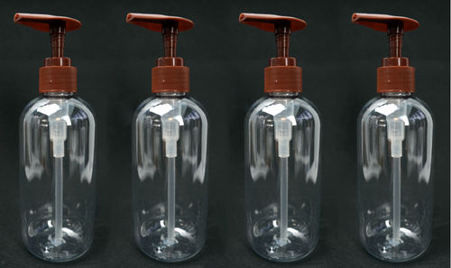 8 OZ PLASTIC PUMP BOTTLES