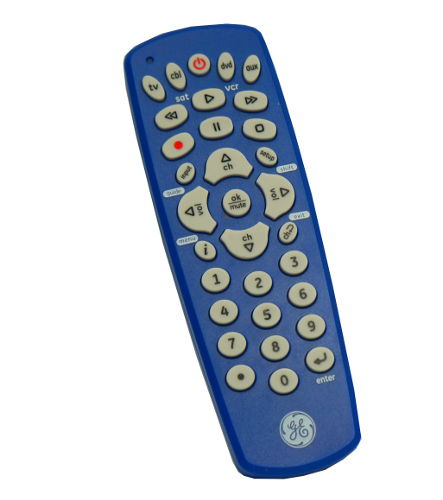 GE UNIVERSAL REMOTE CONTROL