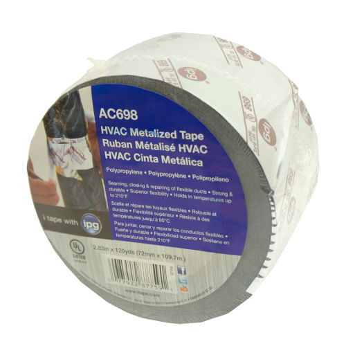 METALIZED HVAC TAPE 360-FOOT ROLL