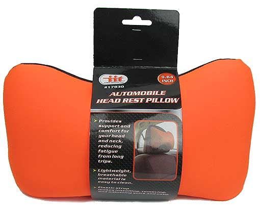 AUTOMOBILE HEADREST PILLOW