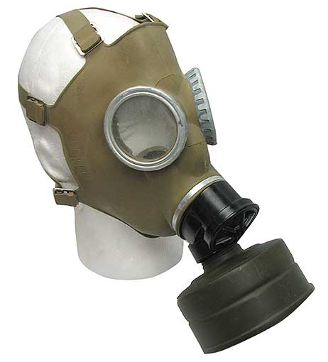 POLISH MILITARY GAS MASKS