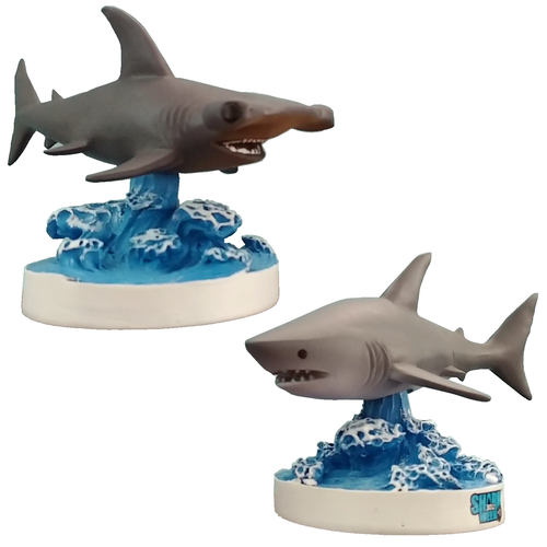 DISCOVERY CHANNEL™ SHARK BOBBLEHEADS