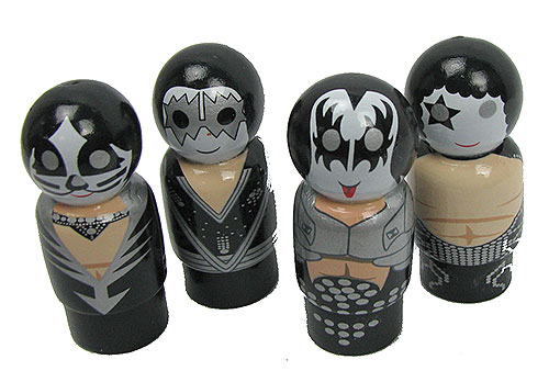PIN MATE™ KISS BAND COLLECTIBLE FIGURINES