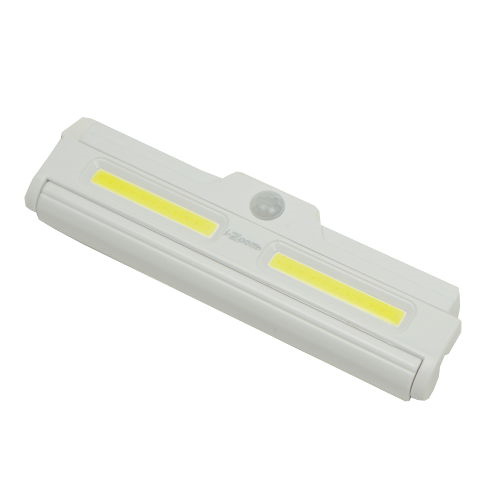 2-PACK BATTERY-POWERED PIVOTING COB LED LIGHT BARS