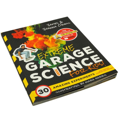 GARAGE SCIENCE EXPERIMENTS BOOK