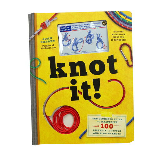 KNOT TYING INSTRUCTIONAL BOOK