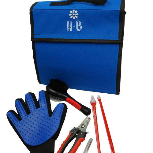 PET GROOMING SET WITH CASE