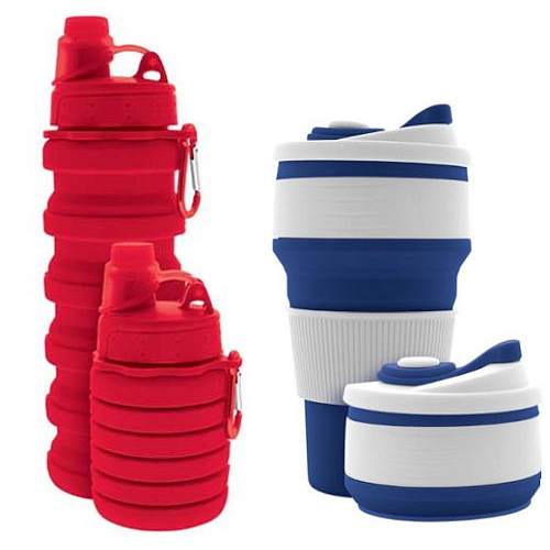 REUSABLE COLLAPSIBLE CUP COLLECTION