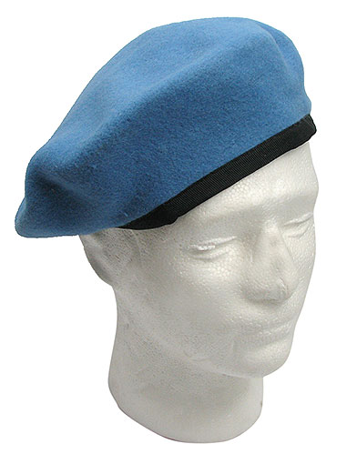 UNITED NATIONS PEACEKEEPER BLUE BERET