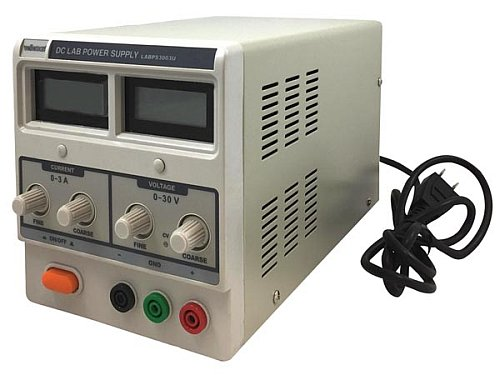 DIGITAL DISPLAY DC LAB POWER SUPPLY 0-30 VDC