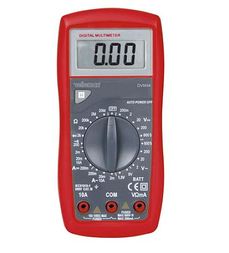 VELLEMAN® DIGITAL MULTIMETER