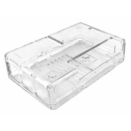CLEAR ABS PLASTIC CASE FOR RASPBERRY PI B / B+