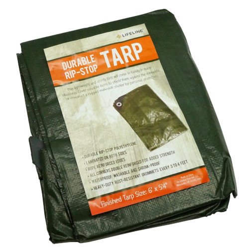 LARGE GROMMETED TARP